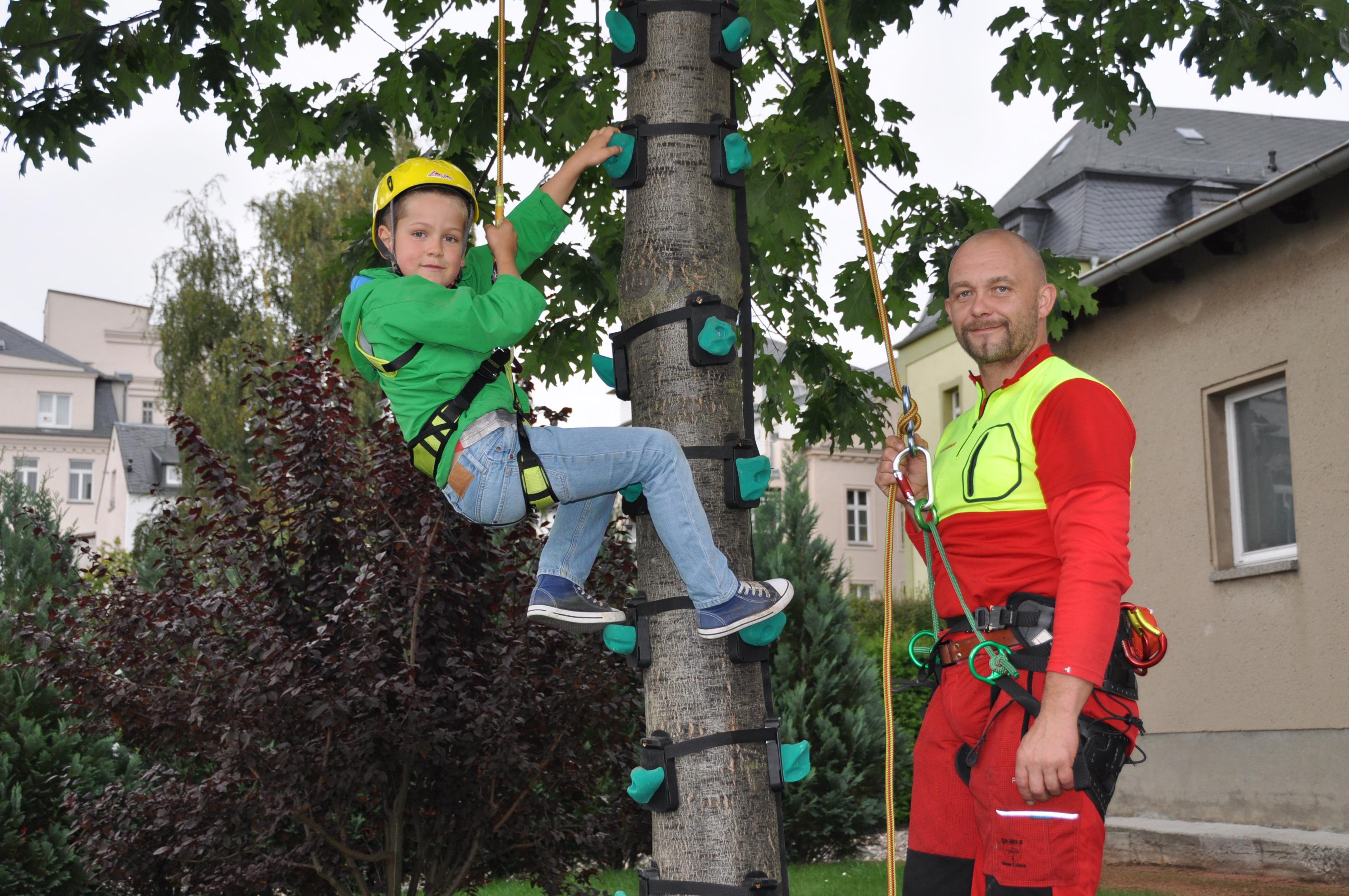 Klettergurt Forst : Kinder klettern forst holz de